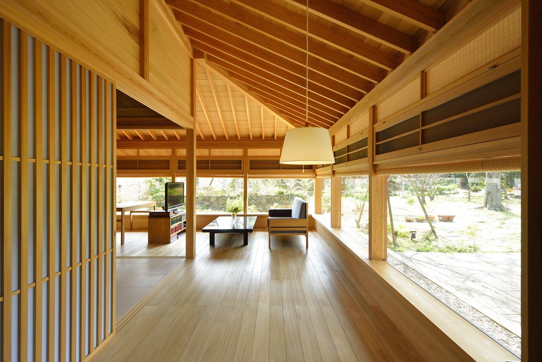 おしゃれな自然素材の家