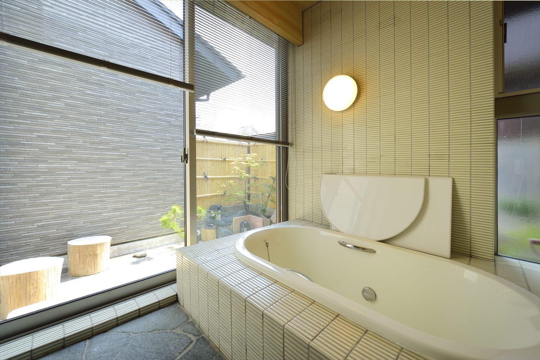 眺望の良いオーダー浴室