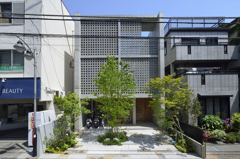 鉄筋コンクリート造の戸建て外観