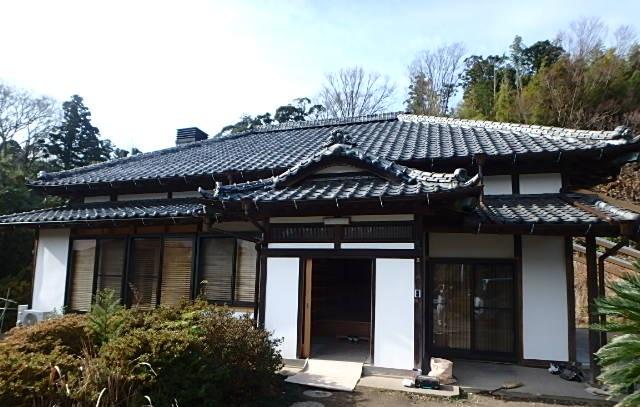 和風の新築平屋