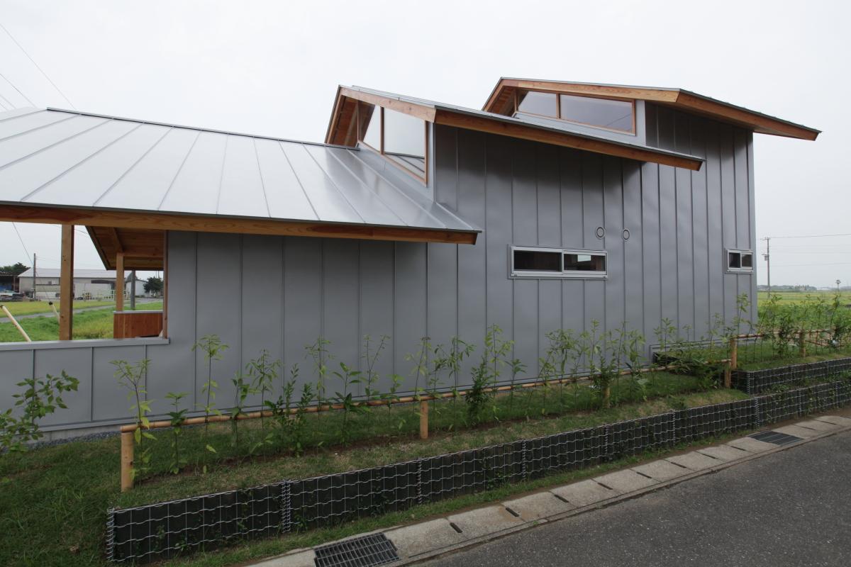 白子の小屋(設計:テンジンスタジオ)