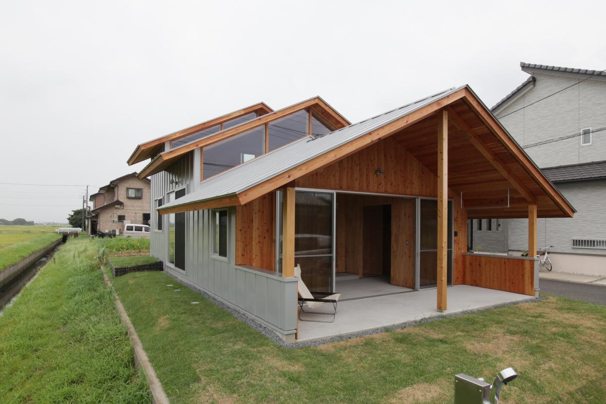 郊外の広い平屋新築